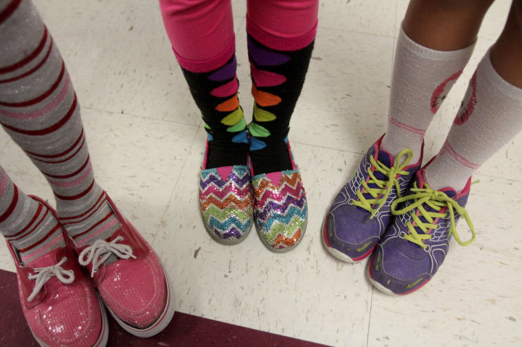 Copperas Cove Crazy Sock Day