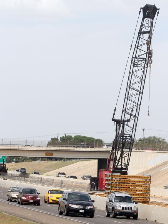 US Highway 190 construction