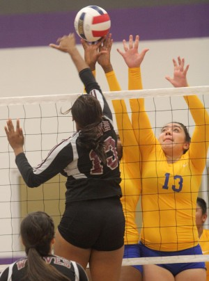 Copperas Cove vs Mansfield Timberview Volleyball