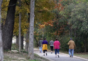 Seniors walk miles, get fit