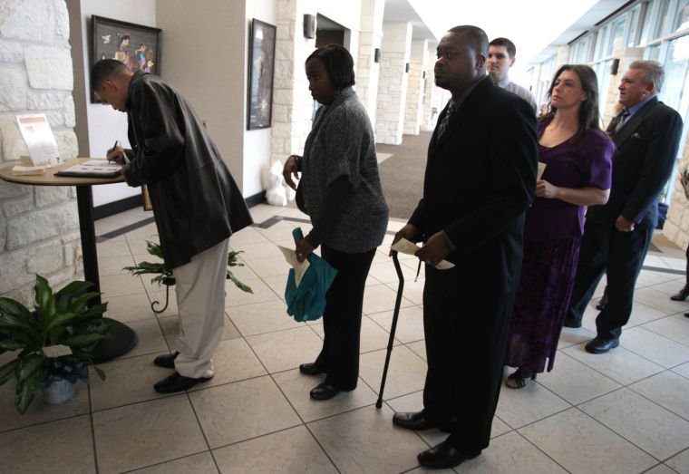 Funeral for pastors