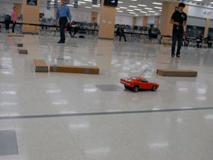 Students use math, science to race remote-controlled cars