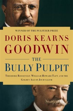 Book Review-Bully Pulpit: This book cover image released by Simon & Schuster shows
