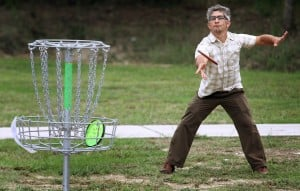 Disc Golf Meeting at Purser Park