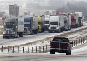 Travel slowly improves days after Texas ice storm