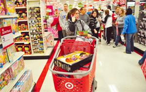 Shoppers get up early for deals on holiday gifts