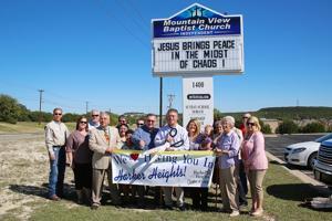 Mountain View Baptist Church ribbon-cutting