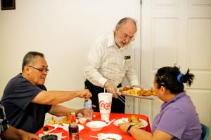Knights of Columbus host Lenten fish fry