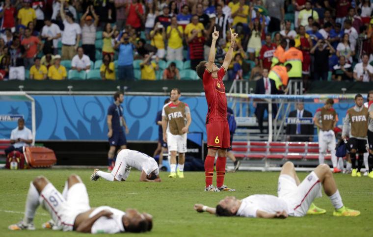 World Cup Belgium vs. U.S.