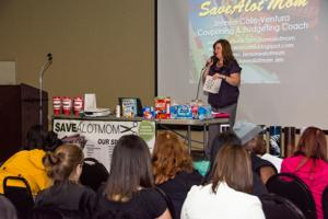 'Savealotmom' offers coupon pointers at Parks and Recreation Center in Cove