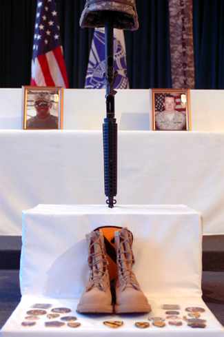 1st Cav honors fallen pair