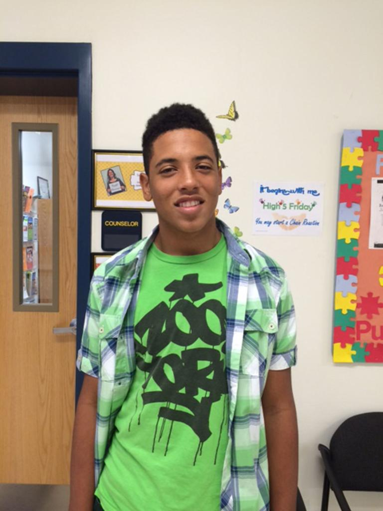 Public school all new for Cove seventh-grader