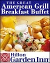 $10 for Breakfast Buffet for 2 at the Great American Grill. Only 50 Available!