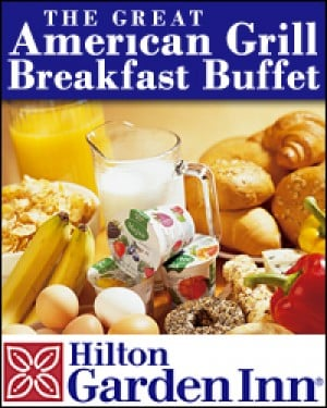 Breakfast Buffet Hilton Garden Inn