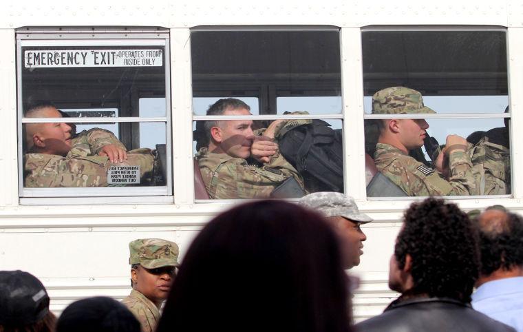 96th Transportation Company Deployment