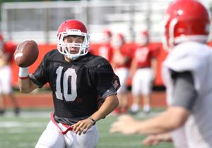 Belton football holds spring practice