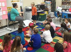 Fairview/Miss Jewell Elementary School students learn fine art of social etiquette