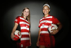 All-Area Girls Soccer Co-MVPs