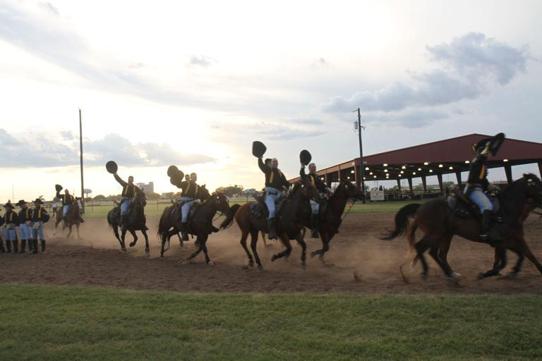 Horse Cavalry Detachment trains for national competition