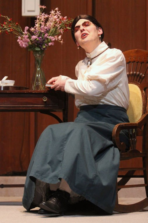 One-woman play