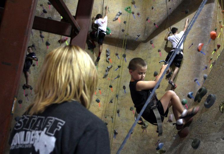 Boulders Rock Climbing