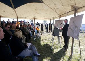 U.S. Highway 190 groundbreaking