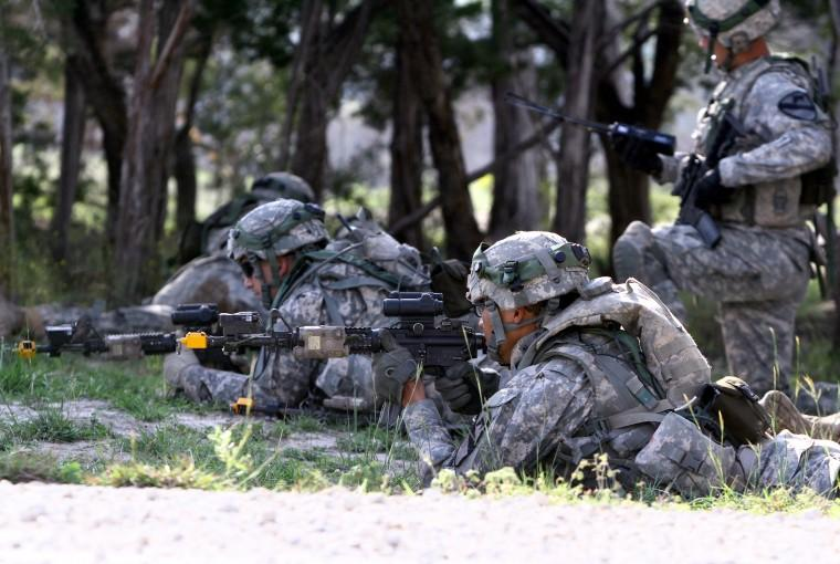 2nd BCT Tests High-Tech Army Training System