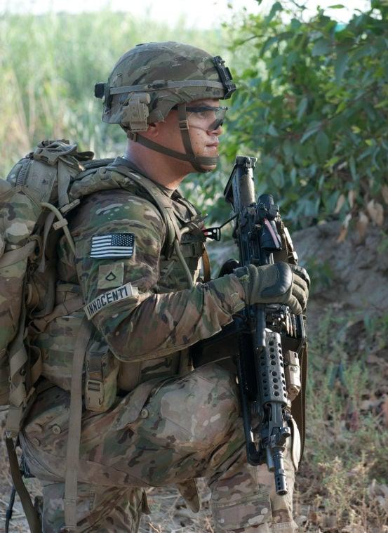 1st Cavalry conduct presence patrol around FOB Fenty