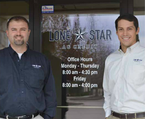 Nathan VanNoord, Credit Office President (left) and Jason Collier, Loan Officer