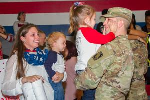 69th Brigade Troops Return from Middle East