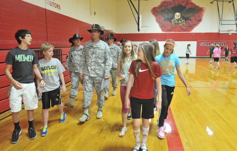 3rd Cavalry Regiment adopts Salado school
