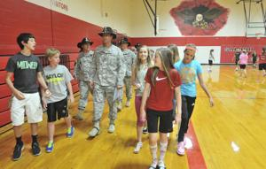 3rd Cavalry Regiment adopts Salado school