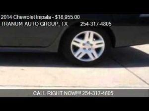 2014 Chevrolet Impala LT Fleet 4dr Sedan for sale in Temple,