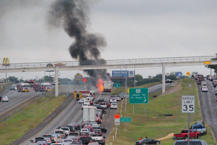 Highway 190 fire