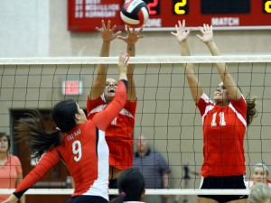 Lady Tigers Down Lady Eagles 3-2