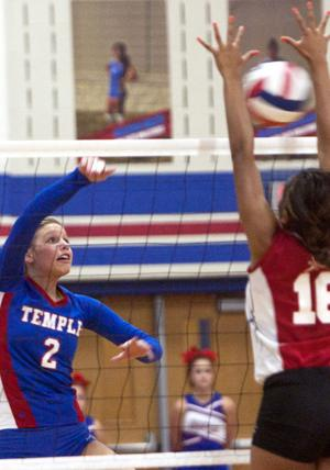 Volleyball: Heights at Temple
