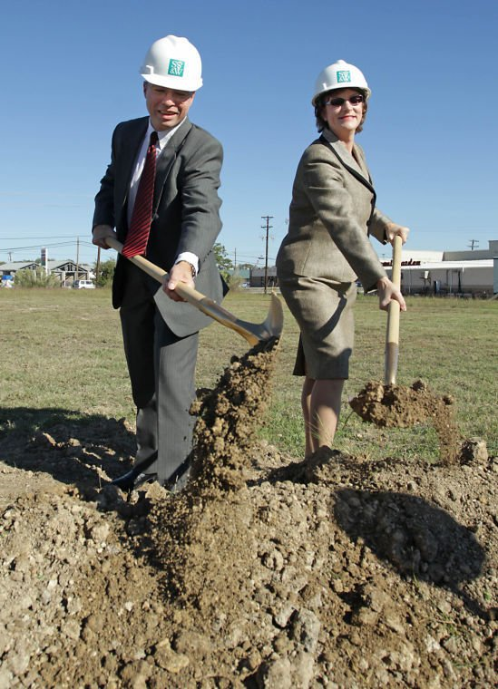 Scott & White groundbreaking in Cove