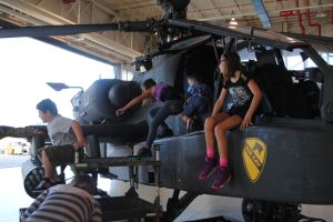 Community peeks into Air Cav's hangar