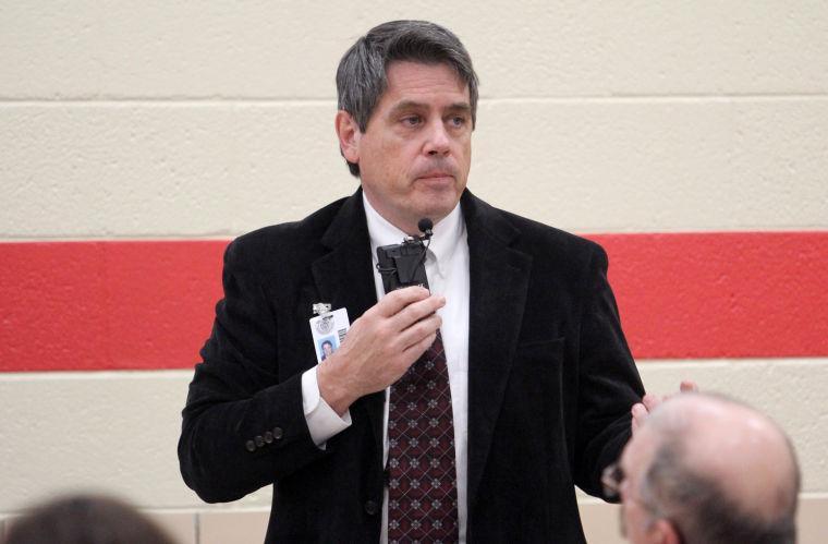 Fowler Elementary School meeting