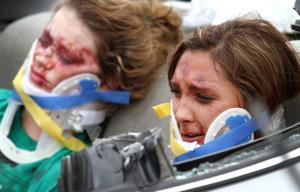 Mock Crash at Ellison