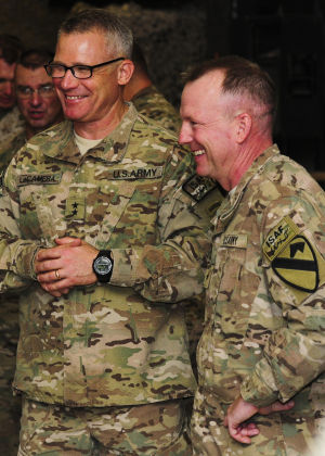 1st Cavalry Div. Takes RC-S reins from 4th Inf. Div.