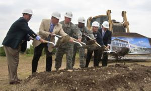 Fort Hood Mall groundbreaking