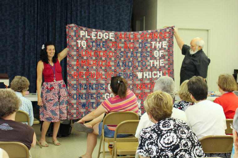 Blind Quilter