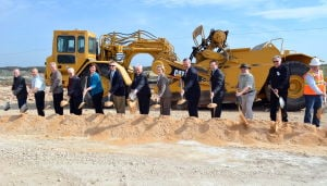 State Highway 195 groundbreaking