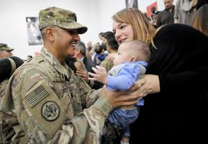 Brave Rifles home in time for holidays