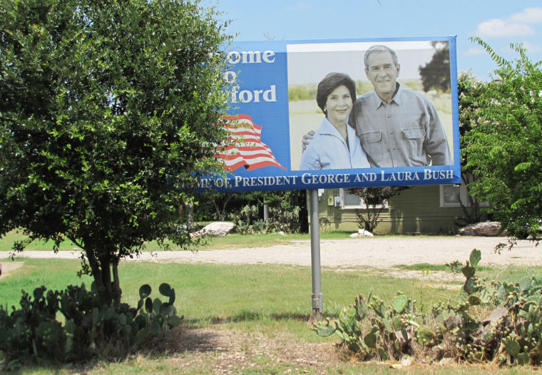 Crawford & George W. Bush