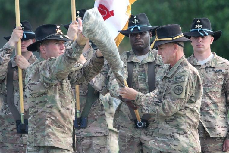 3rd Cavalry Regiment Colors Casing Ceremony