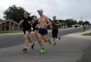 Ten-Miler competition training