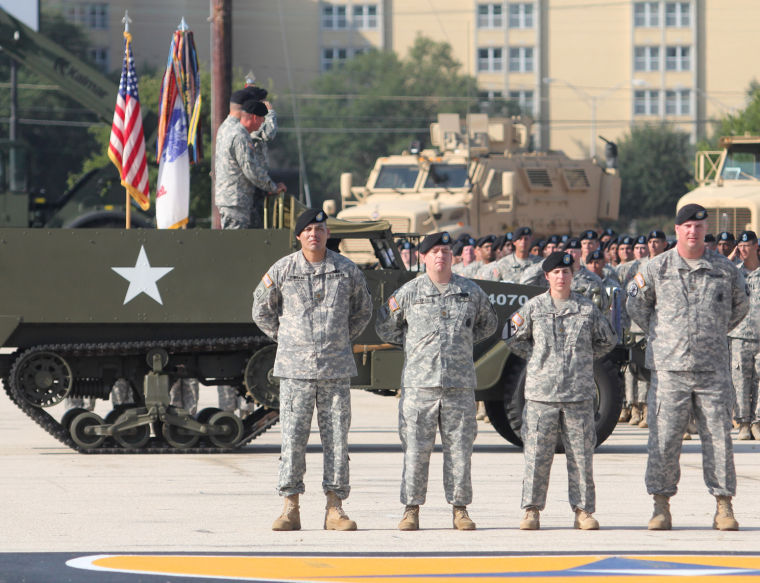4th Sustainment Brigade change of command ceremony