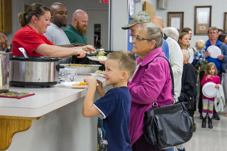 Church hosts 7th GraceGiving Thanksgiving meal